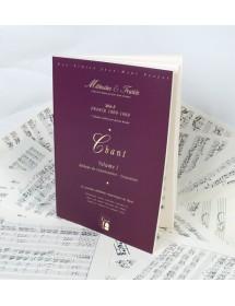 Chant - Vol 1 France...