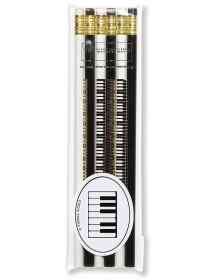 Pencils keyboard - black...