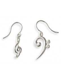 Jewelry bass clef and...