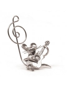 Guitar mouse pewter 95,5%...