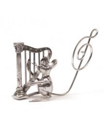 Souris harpe en étain 95,5%...