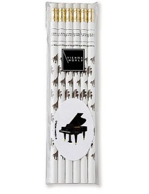 Pencils piano music with...