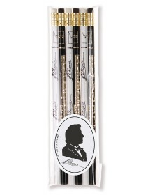 Pencils Chopin - black and...