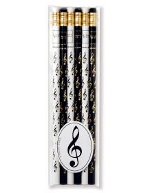Crayons clé de sol musique...