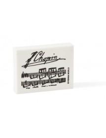 Eraser Chopin - black and...
