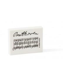 Gomme Beethoven - noire et...
