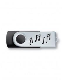 Clé USB 8 Go - Noir et...