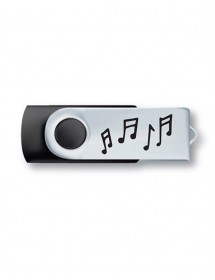 USB key 8 Go - Black and...
