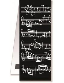 Magnetic Bookmarks - Black...