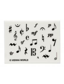 Gomme symboles musique -...
