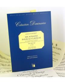 Schobert Johann Six sonatas...